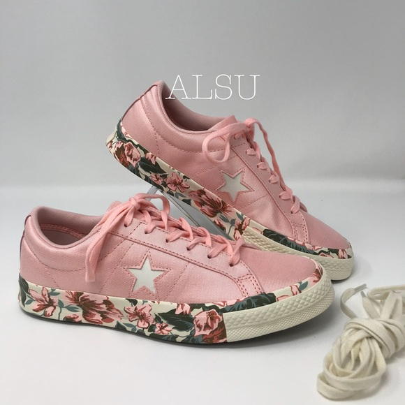 Converse One Star OX Satin Storm Pink kW AUTHENT NWT